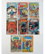Lot of New Teen Titans DC Comics -2 1983 Drug Awareness & 6 Tales of Tee... - $9.99