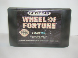 SEGA GENESIS - WHEEL OF FORTUNE (Game Only) - $6.75