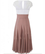 A-line Sweetheart Mid-Calf Chiffon Mother of the Bride Dress with Appliques - $99.00+