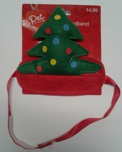 Christmas tree Pet Headband New Christmas holiday dog cat costume clothing - $121,13 MXN