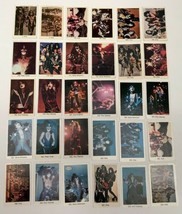 30/30 KISS SWEDEN MOVIE CARD SET SWEDISH VINTAGE TRADING - $217.79