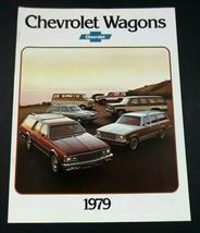 Chevrolet 1979 Wagon Brochure Caprice Impala Malibu Monza 20 Page Original - $7.99