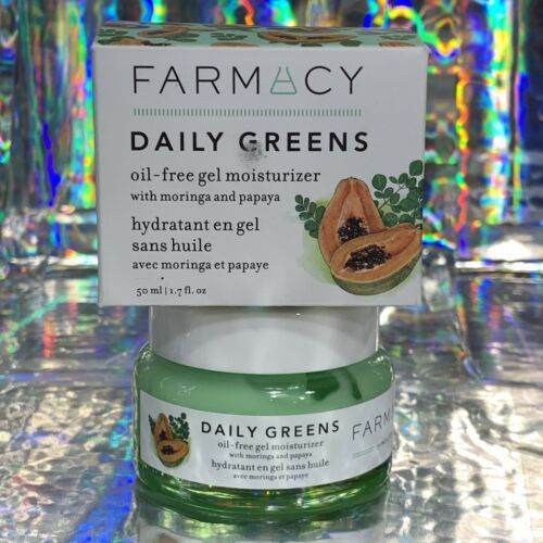 NIB Farmacy Daily Greens Newly Launched Oil Free Moisturizer For Oily Skin 1.7oz