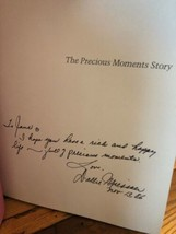 AUTOGRAPHED The Precious Moments Story Collector's Edition 1st Edition H... - $25.74