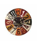 PANDA SUPERSTORE Retro Nostalgia Wooden Dial Wall Clock Vintage Look Hom... - $52.91
