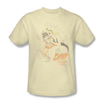 Dragon's Lair T-shirt sketch retro 80's arcade game beige graphic tee DRL109 image 1