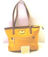 MICHAEL KORS YELLOW NYLON HANDBAG - $42.00