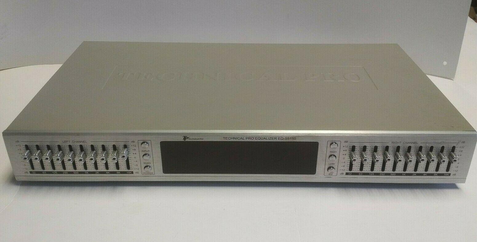 Technical Pro EQ-s5120 Digital Equalizer EQ