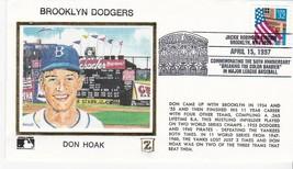BROOKLYN DODGERS DON HOAK JACKIE ROBINSON STAD. BROOKLYN Y 4/15/1997 Z SILK - $2.98