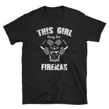 Firefighter Wife Shirt, Firefighter Gift,Fireman Wife Shirt new tshirt 2018-2019 - $16.75