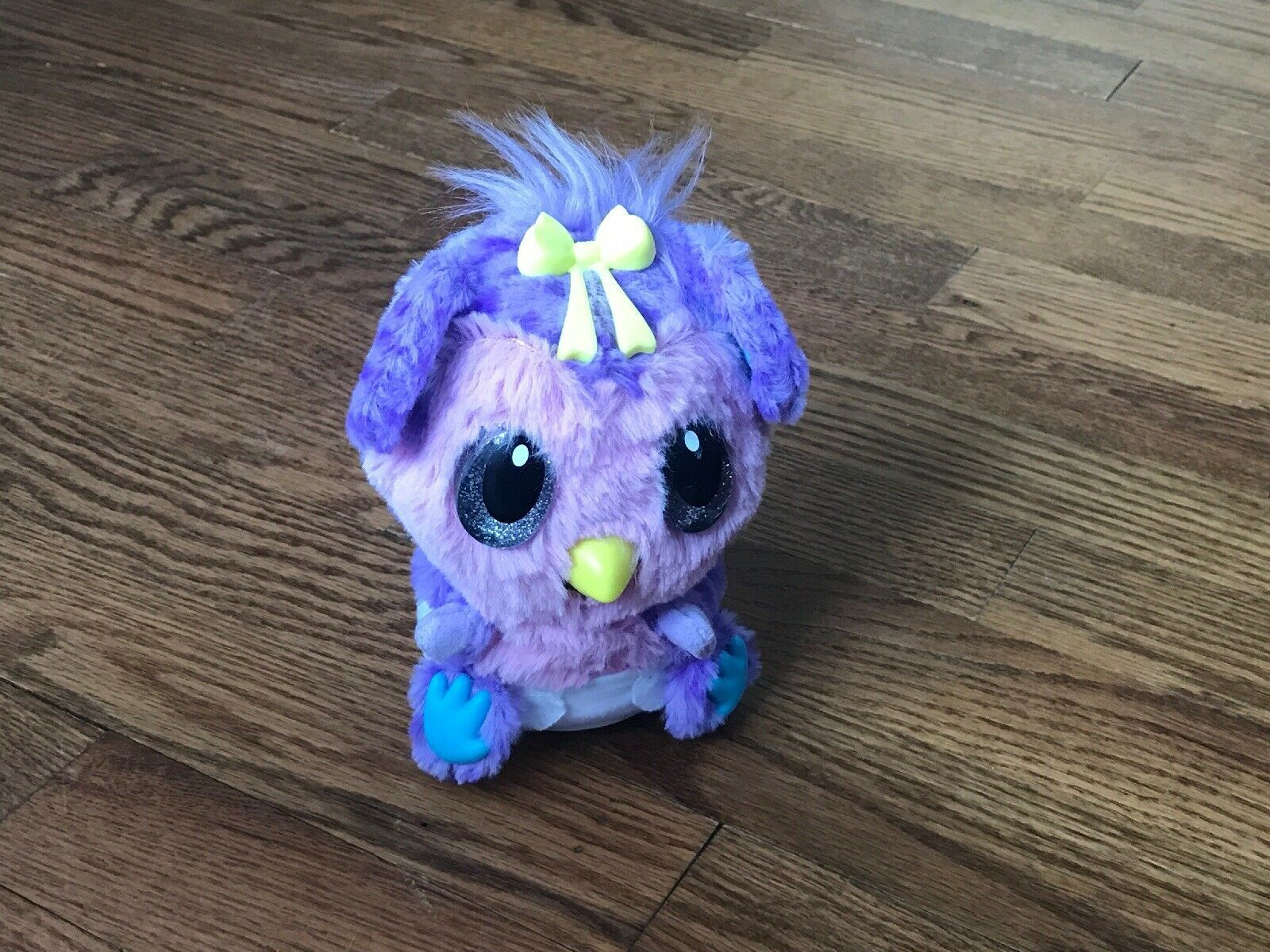 Hatchimals Hatchibabies Hatched Monkiwi Interactive Spinmasters