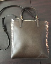 NEW Coach Handbag Madison Mini Saffiano Leather NS Tote Crossbody Brown ... - $88.62
