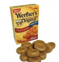 3 Box Pack - Werther's Sugar Free Mini Caramel Candies, 1.48 Oz Each, Exp. 1/22 - $15.79