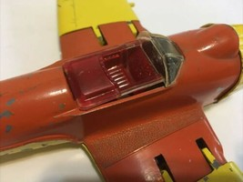 WW2 Hubley diecast Navy Fighter airplane Kiddie Toy Folding Wings Landing Gear - $64.64