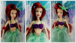 "Disney Parks Ariel The Little Mermaid 12"" Doll Princess New Damaged Box 2011 - $89.54"