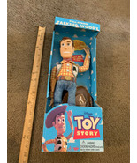 Vintage 1995 Toy Story DISNEY PIXAR Original Pull-String TALKING WOODY T... - $311.85