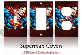 Superman Comic Book DC Comics Light Switch Covers Disney Home Decor Outlet - $6.89+