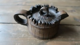"Vintage Yixing Tree Trunk Teapot 5.5"" - $59.39"