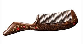 Natural Wooden Comb/Best Choice Of Gift Giving/Chinese Style(Natural) image 2