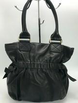 DKNY Bucket Shoulder Bag Black Leather Medium - $24.75