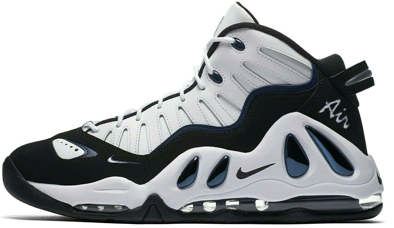 NIKE AIR MAX UPTEMPO 97 WHITE/BLACK SIZE 10.5 NEW FAST SHIPPING (399207-101)