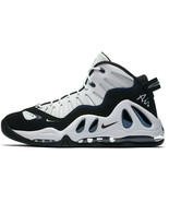 NIKE AIR MAX UPTEMPO 97 WHITE/BLACK SIZE 10.5 NEW FAST SHIPPING (399207-... - $134.55