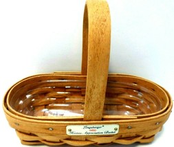 Longaberger Hostess Appreciation Basket 1994 with protector...see Photos - $9.73