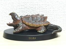 Agatsuma Kaiyodo ALLIGATOR SNAPPING TURTLE animal figure - £21.27 GBP