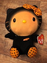 Ty Beanie Baby ~ HELLO KITTY (2014) Halloween BAT ~ MINT with MINT TAGS ... - £20.23 GBP
