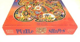 "New SEALED Vintage DRAGON Shape Puzzle 1000 pcs 30""x28"" No. 104241 CEACO USA image 2"