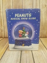 Peanuts 50th Anniversary Musical Snow Globe Hallmark Charlie Brown Snoop... - $48.49