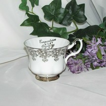 ROYAL ALBERT 25TH ANNIVERSARY BONE CHINA TEACUP Cup only no saucer - $6.50