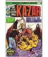 Ka-Zar Lord of the Hidden Jungle Comic Book #15 Marvel Comics 1976 VERY ... - $4.25