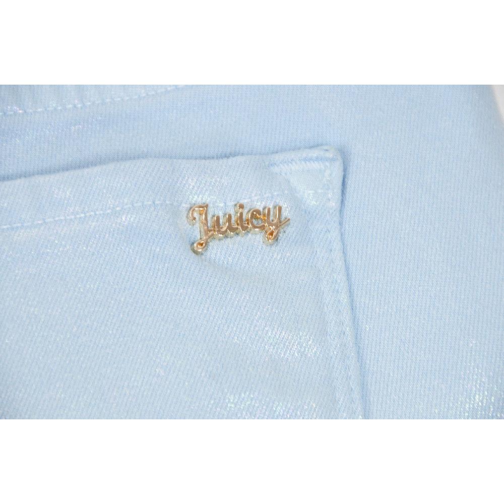 Juicy Couture Black Label Malibu Sky Iridescent Stretch Skinny Jeans 30 NWT image 8
