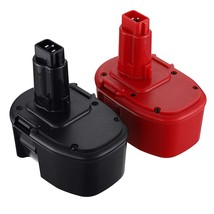 2Pack 14.4V Replacement Ni-Mh Battery Compatible With Dewalt Xrp Dc909 - $65.99