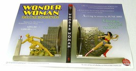 Rare Wonder Woman 17x11 inch DC Comics Direct bookends promotional promo POSTER - £14.78 GBP