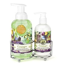 Michel Design Works Scented Foaming Hand Soap & Lotion Gift Set Campagna - $28.08