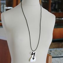 Pendant Steel Gorgeous Bust of Women's with Indicator and Lines Slinky Bass image 3