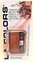 Bronzing Powder Blush by LA Colors Brand New in Package Comes with Brush Inside - $7.91