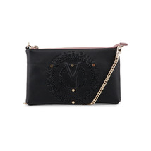 Versace Jeans Woman Clutch Handbag, Synthetic Leather  Visible Logo - $151.76 CAD