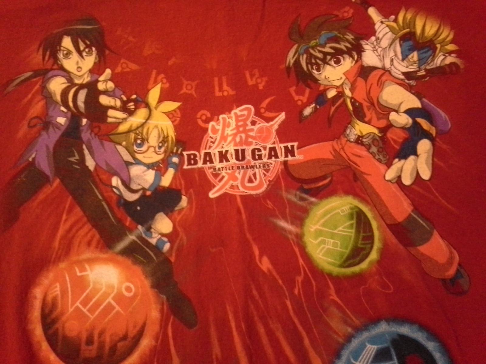58f7265db Bakugan, Battle Brawlers, Japanese Animation, Boys Large T-Shirt - $8.95