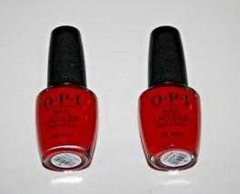 "O.P.I Nail Lacquer Nailpolish NL L60 ""Dutch Tulips""  Lot Of 2 New - $9.50"