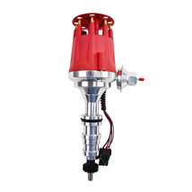 Ford Fe 330 352 360 390 406 410 427 428 Pro Series Ready to Run Distributor  Red image 1