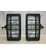 Pair of Bosch Pilot Halogen Fog Lights with Brackets and Front Cages - $98.99