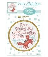 It's A Crabby Day Without A Stitch Post Stitches cross stitch chart Sue ... - $5.40