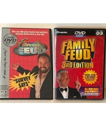The Family Feud TV Game Show DVD Game and 3rd Edition Choice of DVD Games - $9.99
