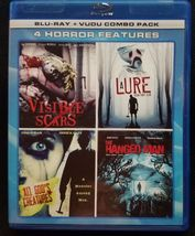 Visible Scars/A Lure Teen Fight Club/All God's Creatures/Hanged Man Blu-ray