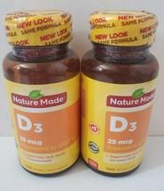Nature Made Vitamin D D3 1000 IU/25mcg Bone Immune 200 Softgels Exp. 7/2022+ - $14.84