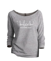 Thread Tank Love, It's A Nurse Thing Women's Slouchy 3/4 Sleeves Raglan ... - $24.99+