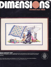 Dimensions Counted Cross Stitch Amish Breezy Day 3611 NEW - $12.87